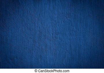 雅致, 藍色的背景, 結構