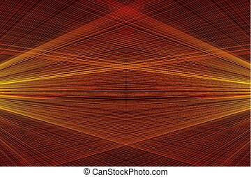 集中される, パターン, ライン, らせん状に動きなさい