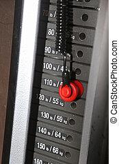 集中, 上, 體操, 重量机器