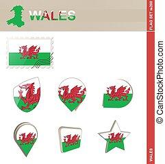 集合, 威爾士旗子, 集合, #200