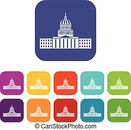 集合, 州議會大廈, 圖象