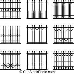 集合, 柵欄