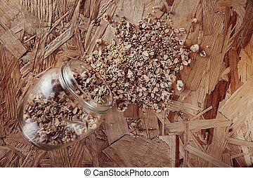 集合, 玉米, 五穀, 彙整, 小米, 穀物, 燕麥