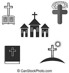 集合, ......的, 宗教, 圖象