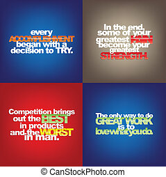 集合, ......的, 机動, quotes.