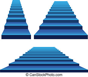 集合, ......的, 樓梯