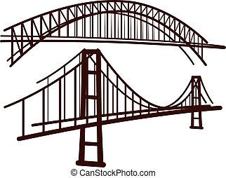 集合, ......的, 橋