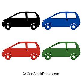 集合, ......的, 汽車