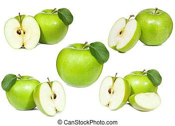集合, 綠色的苹果