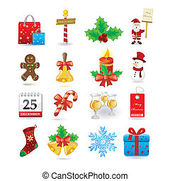 集合, 聖誕節, 圖象