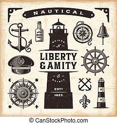 集合, 葡萄酒, 船舶