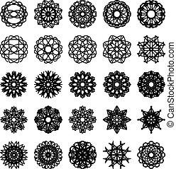 集合, 裝飾品, 輪