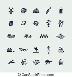 集合, 農業, 圖象