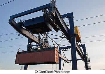 集裝箱吊車
