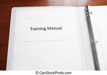 雇員訓練, 手冊