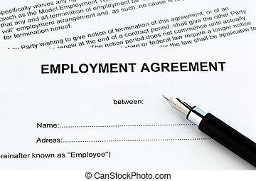 雇用, 言語, 英語