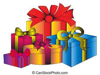 雑多, 贈り物