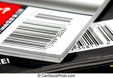 雑誌, barcodes