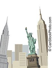 雕像, 自由