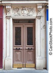雙, 前門, 由于, 裝飾, 拱道