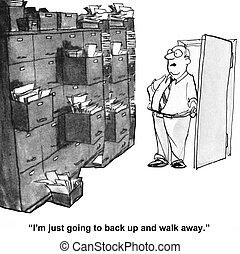 雜亂, 儲存房間