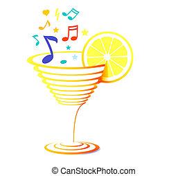 雞尾酒, 以及, 圖表音樂