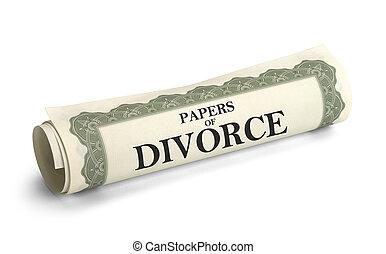離婚, ペーパー