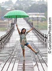 雨, ダンス