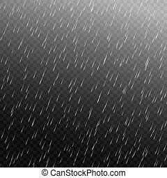 雨, ベクトル, 隔離された