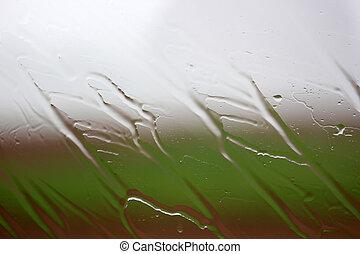 雨, 上に, ∥, ガラス