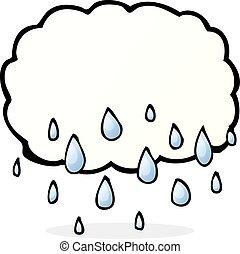 雨 雲, 漫画