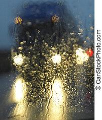 雨, camion