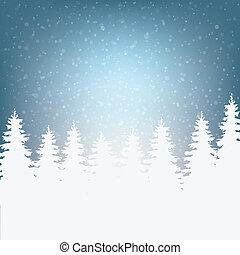 雪だるま, 冬, メリークリスマス