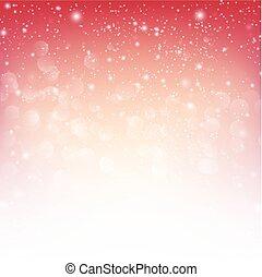 雪の落下, ∥で∥, bokeh, 抽象的, 赤い背景, ベクトル, イラスト, eps10, 001