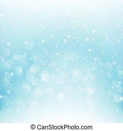 雪の落下, ∥で∥, bokeh, 抽象的, 青い背景, ベクトル, イラスト, eps10, 004