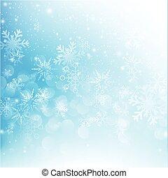 雪の落下, ∥で∥, bokeh, 抽象的, 青い背景, ベクトル, イラスト, eps10, 012