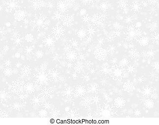雪の薄片, 背景 パターン