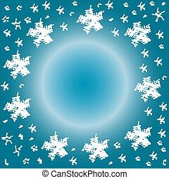 雪片, 抽象的