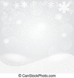 雪片, bokeh, バックグラウンド。, ベクトル, eps10.