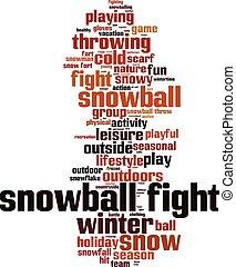 雪玉, fight-vertical