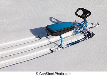 雪, スクーター, ∥あるいは∥, スノーモービル, おもちゃ