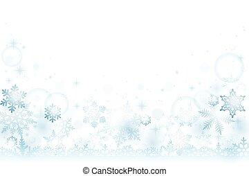 雪, 冬, 背景