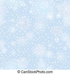 雪, seamless, パターン, クリスマス, 冬 休日, 背景