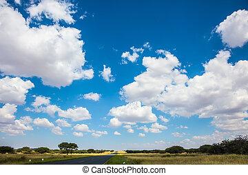 ∥, 雲, 上に, ∥, 平ら, 平野