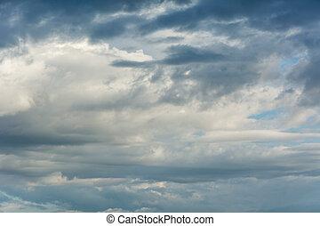 雲, 中に, ∥, 雨, season.