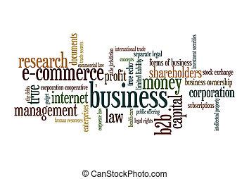 雲, 単語, ビジネス