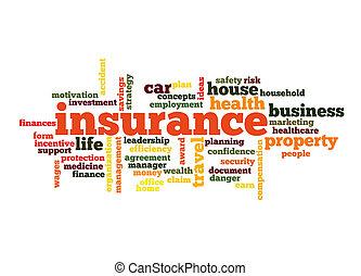 雲, 単語, 保険, 概念