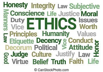 雲, 単語, 倫理