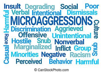 雲, 単語, microaggressions