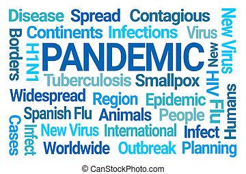 雲, 単語, pandemic
